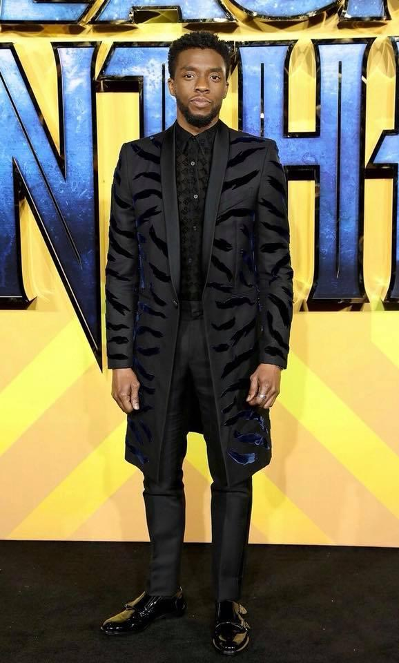 Actor, Chadwick Boseman, star of Marvel's 'Black Panther'