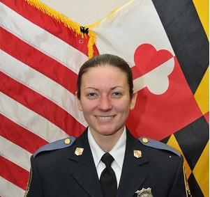 Baltimore County Police Officer Amy Caprio