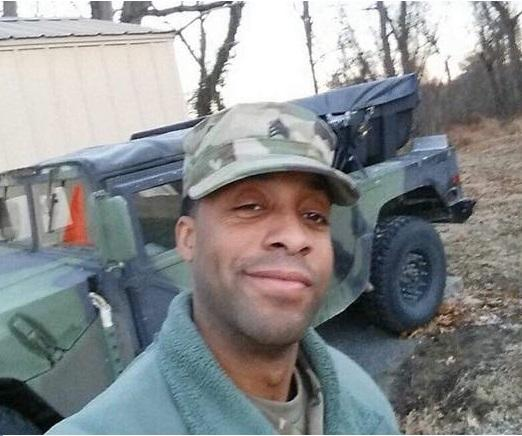 Maryland National Guardsman Eddison Hermond