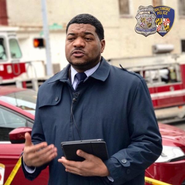 Baltimore Police Media Relations Chief T.J. Smith