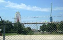 The now-shuttered Kentucky Kingdom.