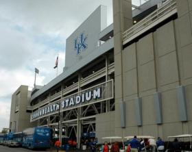 Commonwealth Stadium in Lexington.
