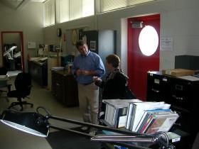 U.S. Assistant Secretary Brenda Dann-Messier takes a tour of the BCTC Leestown Road Campus
