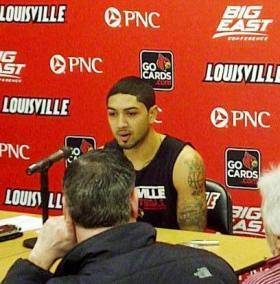 U of L Senior Guard Peyton Siva