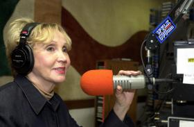 2003: Hosting the morning radio talk show on WVLK-590 AM in Lexington, a job from which she'll retire on March 29.
