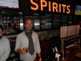 Market Garden proprietor Sam McNulty says it's been hard keeping Cleveland Whiskey in stock