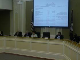 Council Meets on Budget Issues