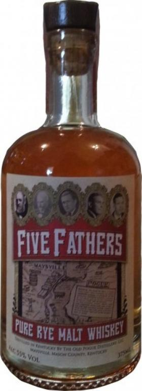 Old Pogue's Five Fathers Pure Malt Rye Whiskey will be released in Maysville on May 1.
