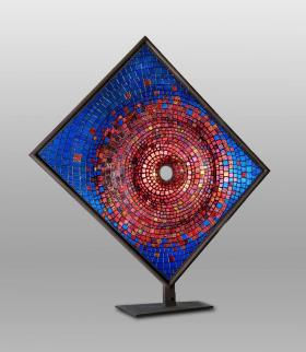 """Stargate,"" by Lexington Artist Dan Barnes, now on display at the Kentucky Artisans Center in Berea."