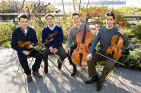 Escher String Quartet performs this weekend at Shaker Village at Pleasant Hill.