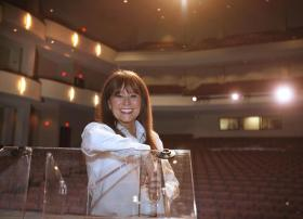 Debra Hoskins was executive director of EKU Center for the Arts when it opened in September 2011. By January 2012, university employees took over business operations because of irregularities.
