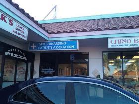 Medical marijuana dispensary in California.
