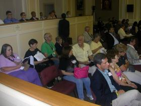 Seniors Wait to See How the Council Acts on the Center Issue