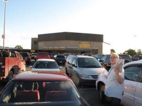 Parking at Kentucky State Fair