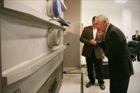 Governor Beshear tours small business near Bowling Green.