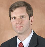 Louisville attorney Andrew Beshear, son of Governor Steve Beshear.