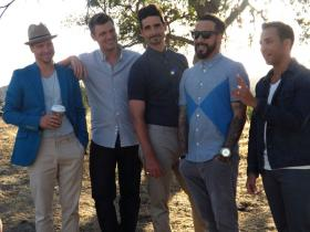 Backstreet Boys, with Kentucky natives Kevin Richardson and Brian Littrell.