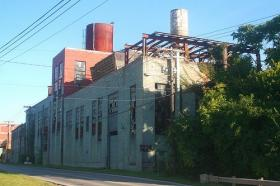 Lexington's working to convert abandoned distilleries such as this one into entertainment, dining and drinking establishments.