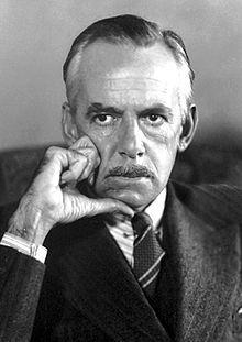 American Playwright Eugene Gladstone O'Neill.
