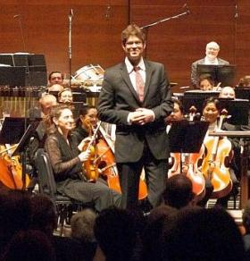 Adam Schoenberg, following the world premiere of American Symphony.