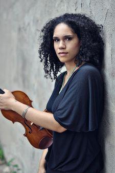 Sphinx Virtuosi violinist Jessie Montgomery.