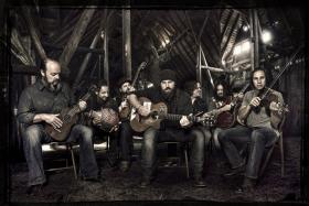 The Zac Brown Band will perform in Lexington for the first time Saturday, but drummer Chris Fryar, third from right, once performed at the Dame with Oteil and the Peacemakers.