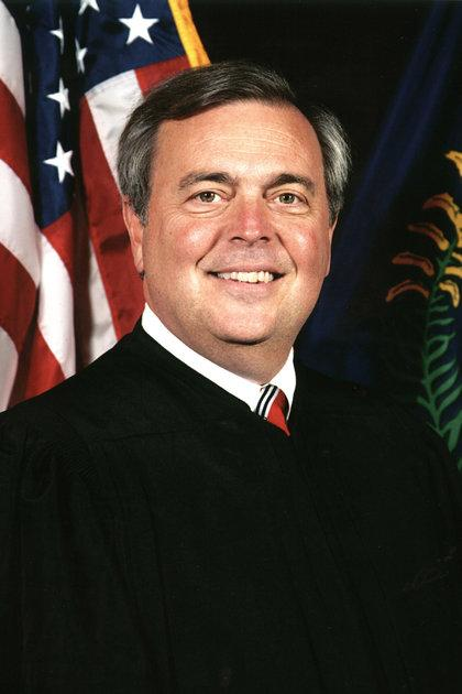 Chief Supreme Court Justice John D. Minton.