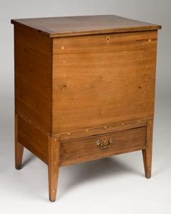 Sugar Chest, 1800-1820 Walnut, poplar, other woods Probably Madison County, Kentucky, area