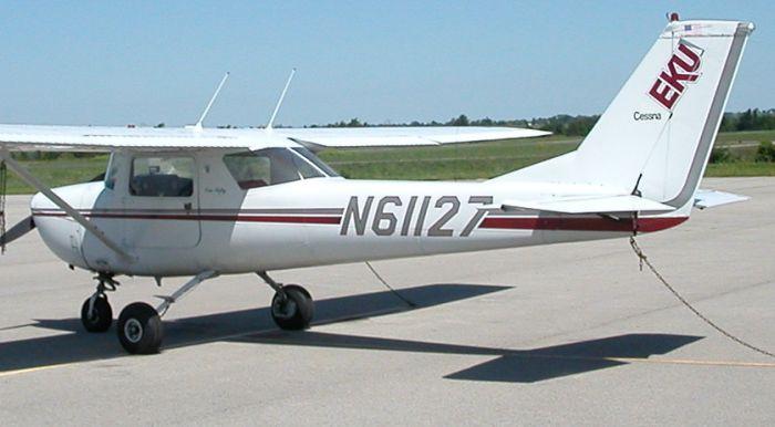 EKU aircraft at Madison County Airport