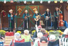 Gene Thompson & Crossroads perform at the 2010 Vine Grove Bluegrass Festival at Optimist Park.