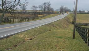 After legislative approval, it took more than 14 years to complete a project to reroute and improve a 6.6-mile section U.S. 68 in Jessamine County that had a high number of accidents.