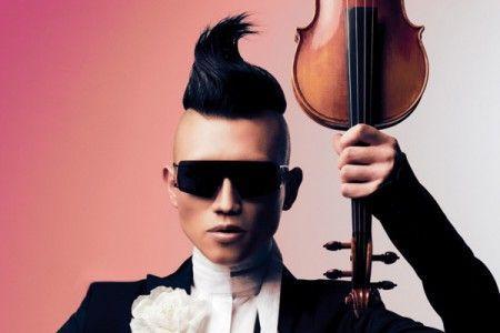 Korean violinist Hahn Bin.