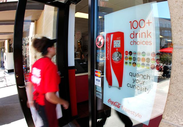 Firehouse Subs is one of two restaurants in Lexington that has the Coca-Cola Freestyle machines that allow people to blend flavors to create hundreds of drink combinations.