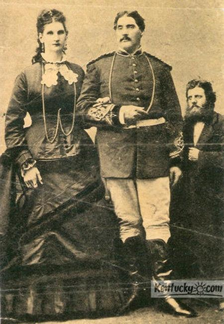 "Letcher County native Martin Van Buren Bates and his wife, Anna, were known as the ""Love Giants"" after they married in 1871. His was reported to be as tall as 7-foot-11, and some accounts said she was 8-foot-1."
