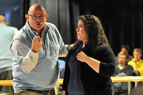 Acclaimed tenor Ronan Tynan talked to Joanna Schnurrman about her performance of a Puccini aria during a master class at UK.