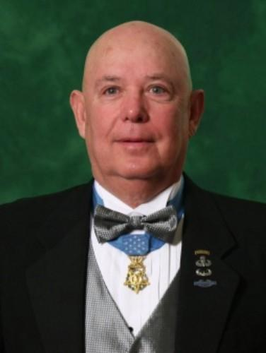 Medal of Honor recipient Ret. Army Command Sgt. Maj. Gary Littrell