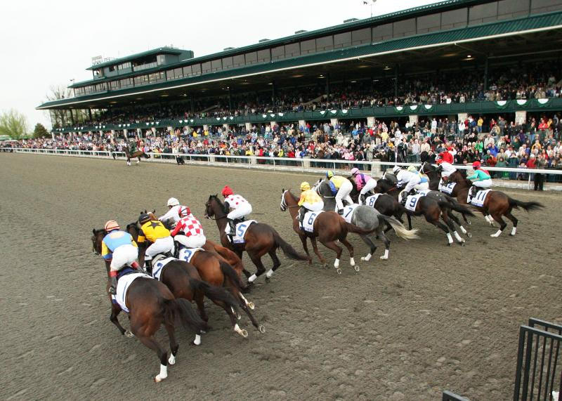 Bluegrass Stakes, Keeneland, April, 2011