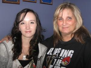 Chrissy Tull with her mother, Patricia Tull.