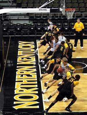 Northern Kentucky University teams hits a snag in joining Division I when the Ohio Valley Conference declined Tuesday to invite NKU to join.