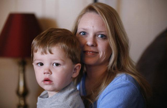 "Lisa Esenbock and her son Logan, 2, are adjusting to the retirement of UK's Dr. Charlton Mabry, the ""Michael Jordan of newborn metabolic conditions."
