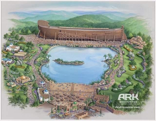 Artist rendering of proposed Ark Encounter theme park. / Provided