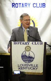 U.S. Sen. Mitch McConnell speaks at