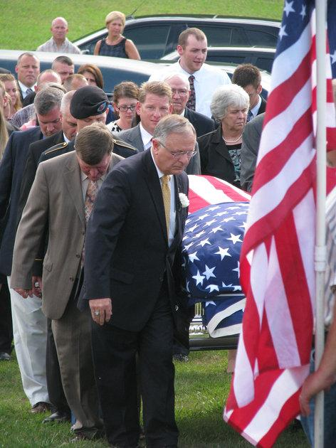 State House Minority Whip Danny Ford, R-Mount Vernon, was among the pallbearers at Sunday's funeral for former state Rep. Dewayne Bunch, who died Wednesday at age 50.