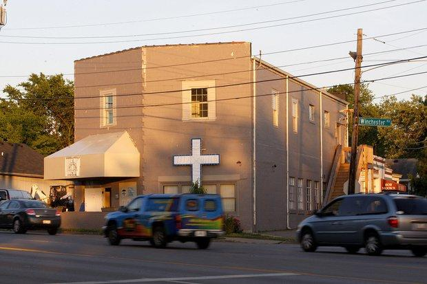 The Community Inn is used as a homeless shelter. The group that runs it says it also is a non-traditional church.