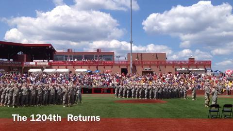 The 1204th Returns: Members of the Kentucky Army National Guard return home.