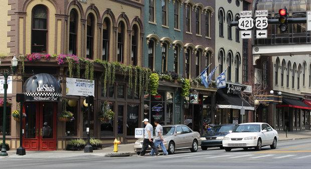 Victorian Square at the corner of North Broadway and West Main St. in Lexington, Ky. The Webb Companies, the original developer of Victorian Square, announced Monday that it will reacquire the downtown site.
