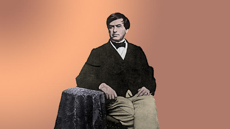 Kentucky abolitionist Cassius Clay.