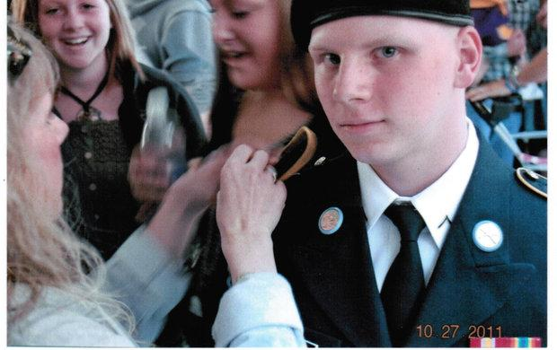 Army PFC Dustin Gross died in Afghanistan last May, a year after graduating from Montgomery County High School.