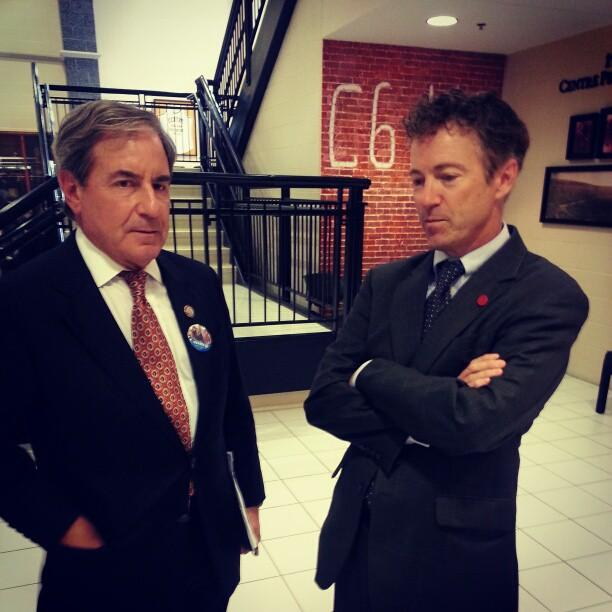 Congressman John Yarmuth and Senator Rand Paul