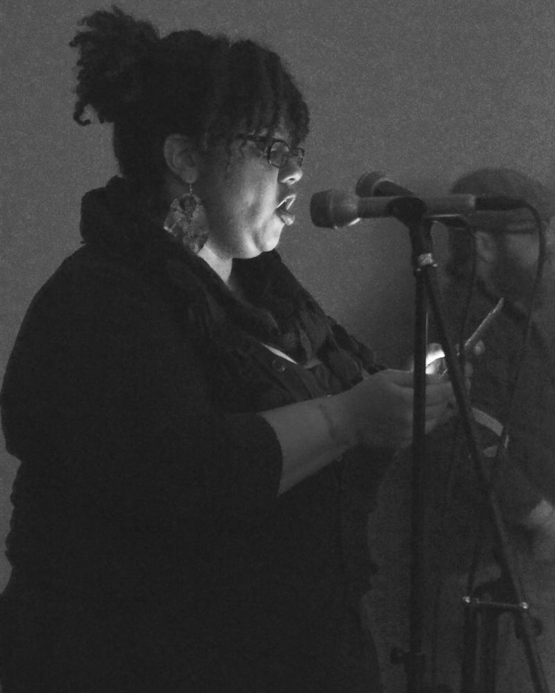 Lexington poet Bianca Spriggs.
